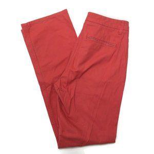 Bonobos 34 x 34 Chinos Pink Pants Mens Straight